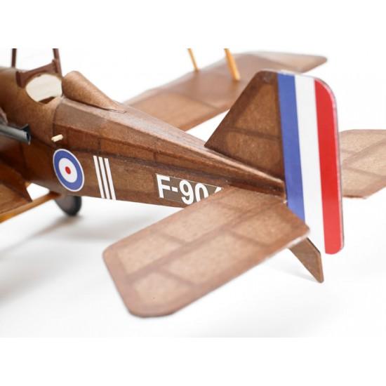 Aeromodel din balsa pentru zbor liber SE5A